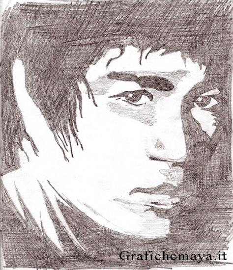 Bruce Lee par wotan
